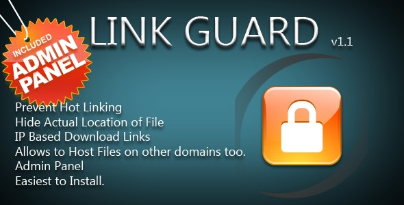PHP Hotlink Protection for Download Links - CodeCanyon Item for Sale