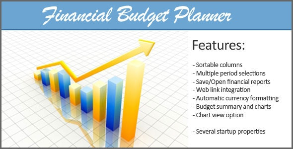Webgen Financial Budget Planner - CodeCanyon Item for Sale