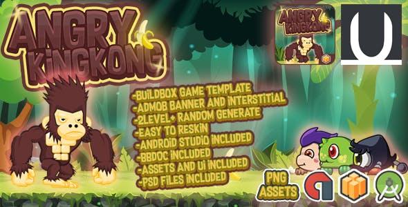 Angry Kingkong + Admob (Android Studio+BBDOC+Assets)