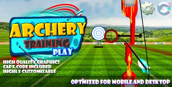 Archery Training - (C2, C3, HTML5) Game.
