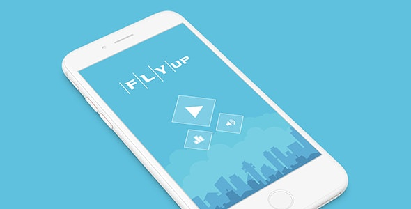 FLY UP WITH ADMOB - ANDROID STUDIO & ECLIPSE FILE - CodeCanyon Item for Sale