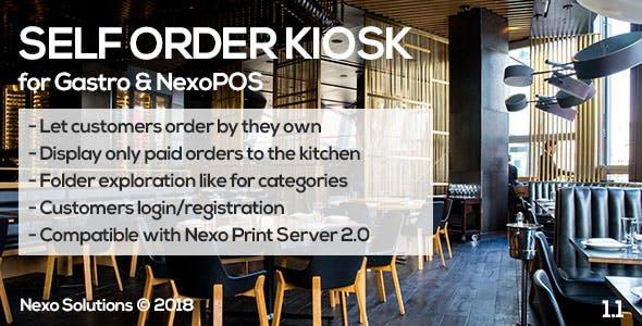 Self Order Kiosk for NexoPOS
