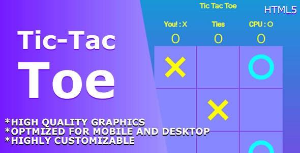 Tic Tac Toe Classic - HTML5 Game.