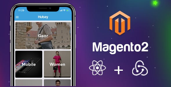 The Complete React Native App for Magento2 eCommerce Websites