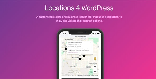 Locations 4 WordPress - CodeCanyon Item for Sale