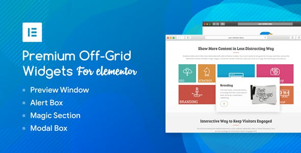 Premium Off-Grid Widgets for Elementor