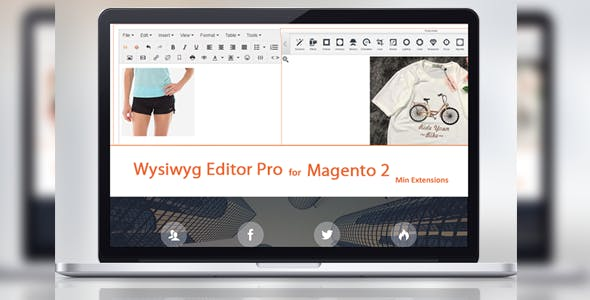 Tinymce 4 - Wysiwyg Editor Pro For Magento 2