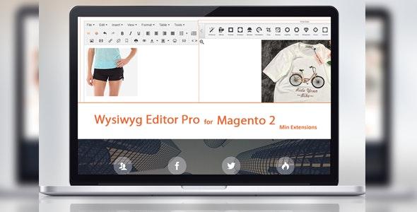Tinymce 4 - Wysiwyg Editor Pro For Magento 2 by softdy | CodeCanyon