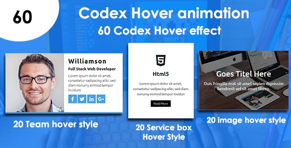 Codex Hover Animation