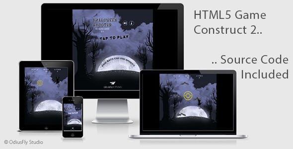 Halloween Shooter - HTML5 Game (Construct 2)