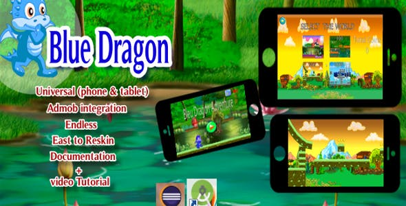 Dragon game (Eclipse - Admob integration)