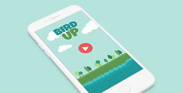 BIRD UP WITH ADMOB - ANDROID STUDIO & ECLIPSE FILE