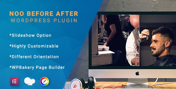 Noo Before After - Ultimate Before After Plugin for WordPress - CodeCanyon Item for Sale