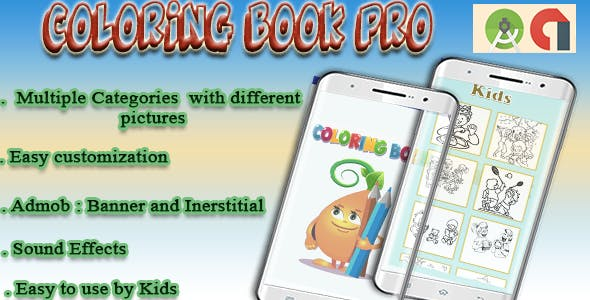 Color Book Pro with Admob
