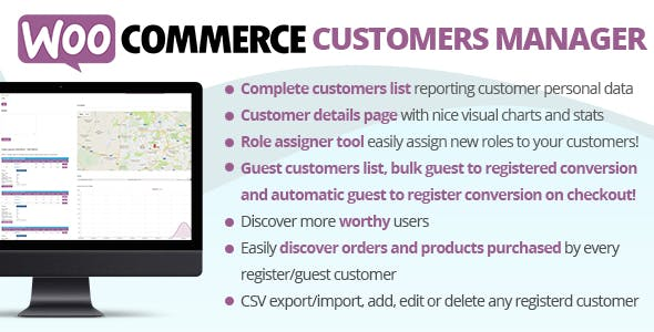 WooCommerce Customers Manager        Nulled