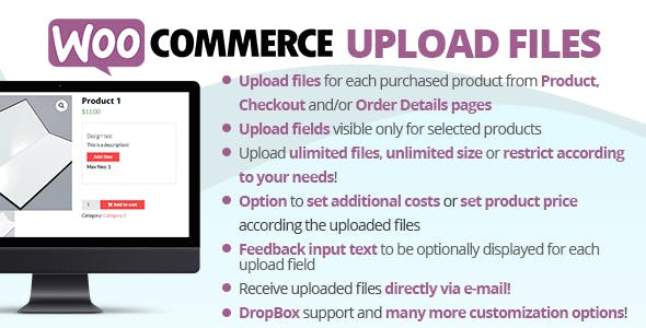 WooCommerce Upload Files        Nulled