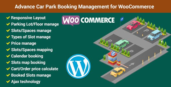 Advance Car Park Booking Management for WooCommerce
