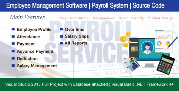 Employee Management System ( Payroll System ) With Full