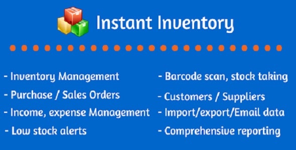 Instant Inventory - CodeCanyon Item for Sale