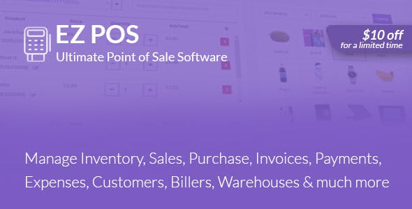 EZ POS - Point of Sale, Billing, Stock Management & Invoicing
