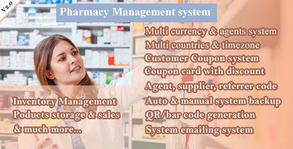 Pharmacy Management System, bootstrap POS CMS - CodeCanyon Item for Sale