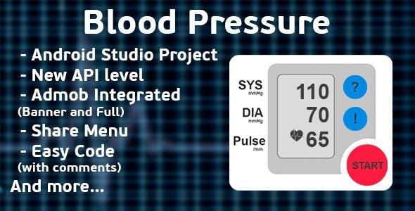 Finger Blood Pressure Prank + Admob ads