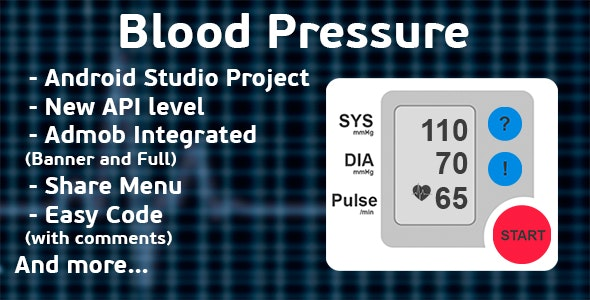Finger Blood Pressure Prank + Admob ads - CodeCanyon Item for Sale