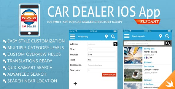 Car Dealer Classified iOS