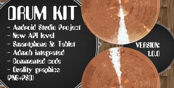 Drum Kit + Admob Ads