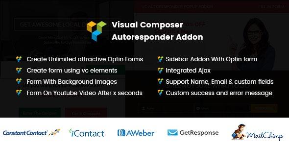 Visual Composer Autoresponder Addon - CodeCanyon Item for Sale