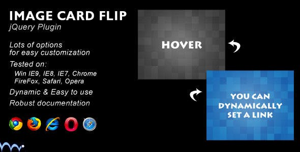 Card Flip JS Plugin