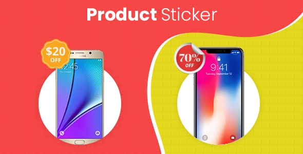 Product Sticker - CodeCanyon Item for Sale