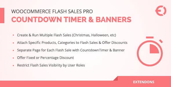 WooCommerce Flash Sales Pro - Countdown Timer & Banners