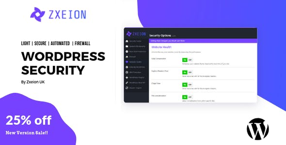 Zxeion - WordPress Security & Firewall & Hide My WP