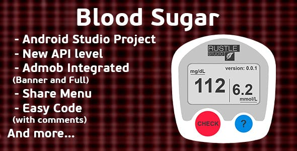 Finger Blood Sugar Prank + Admob