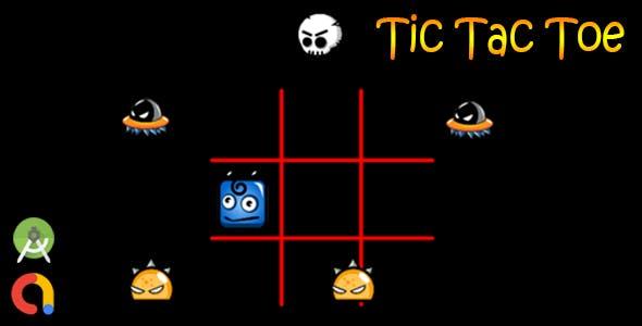 Tic Tac Toe (Android Studio + Admob + GDPR Support + API 27)