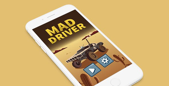 MAD DRIVER WITH ADMOB - ANDROID STUDIO & ECLIPSE FILE