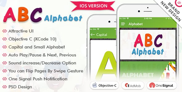 iOS Alphabet