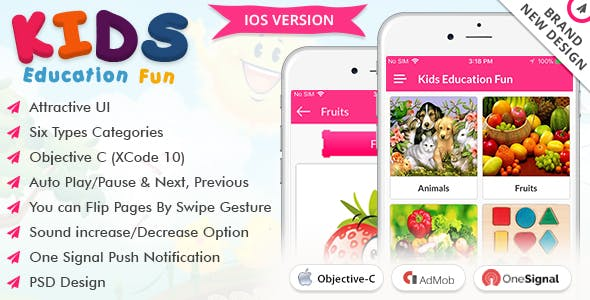 iOS Kids Education Fun