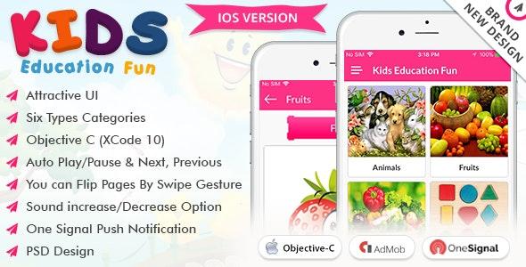 iOS Kids Education Fun - CodeCanyon Item for Sale