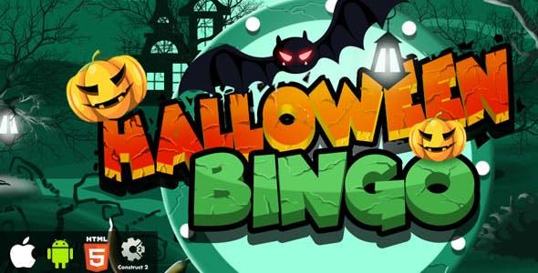 Halloween Bingo - HTML5 Game (CAPX)