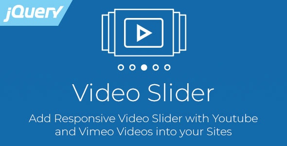 Video Slider - Responsive jQuery Slider for Youtube and