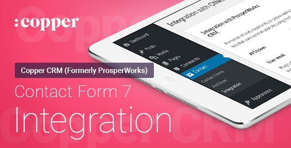 Contact Form 7 - ProsperWorks (Copper) CRM - Integration