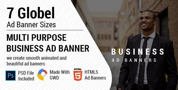 Multi Purpose Business Ad Banners