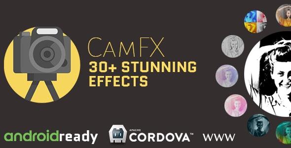 CamFX - WebGL Based Hybrid Camera Application by IngeseTheme