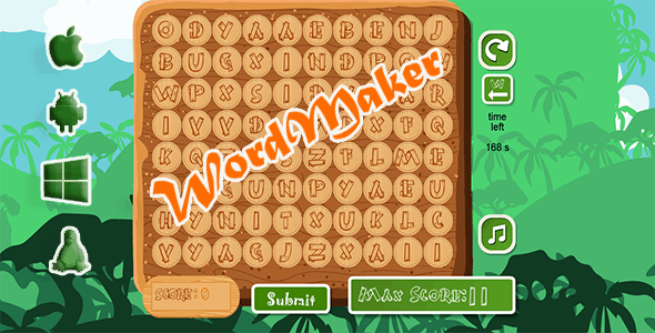Word Maker! - CodeCanyon Item for Sale