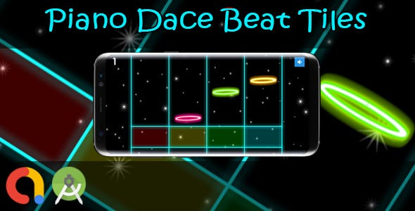 Piano Dance Beat Tiles (Android Studio + Admob + GDPR Support + API 27 + Eclipse)