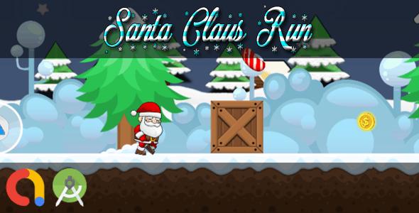 SANTA CLAUS RUN (Android Studio + Admob + GDPR Support + API 27 + Eclipse)
