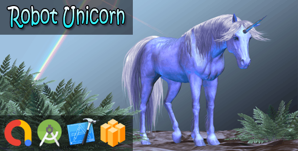 Robot Unicorn Attack (BBDOC + iOS Xcode 10 + Android Studio + Admob + GDPR + API 27 + Eclipse)