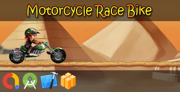 Motorcycle Race Bike (BBDOC + iOS Xcode + Android Studio + Admob + GDPR Support + API 27 + Eclipse)